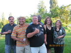 Class of 1973 - Dave Beltran, Manuel Aguirre, Rick Faucher, Mike Carter, Carol Orozco, Yvonne Stobaugh
