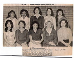 Miss Toppenish Candidates - Class of 1981. Mrs. Benz had cut this article out in 1980 and kept it in their Junior High annual.