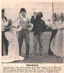 Junior High rehearsal of a Melodrama that was performed at the Pioneer Fair.