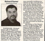 Richard Gamez - Class of 1987??
