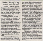 "Verlin ""Sonny"" King - Class of 1973??"