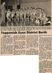 Feb 1965 Basketball team article from the Yakima Herald