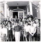 Class of 1953 when they were in 7th grade. Picture taken by Mrs. Benz (teacher).