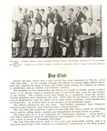 1927- First year of Pep Club