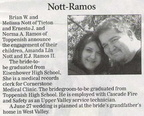 E.J. Ramos II engagement announcement - May 2009 - Class of 2002