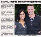 Selena Galaviz ('04) engagement announcement - January 2010