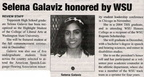 Selena Galaviz ('04) article - Oct 2008