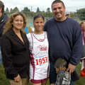 Anna Bazan (Class of 2008) w/parents Lydia & Emilio & little brother