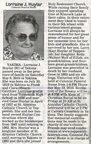 Lorraine Gauthier Huylar obituary - May 2010 - Class of 1936