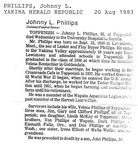 John Phillips obit - Class of 1936
