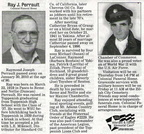 Ray Perrault obituary - Feb 2010 - Class of 1937