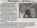 Jack ('41) & Floy Thorington - 60th Anniversary - 2007.
