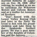 Marion Wall obit - 2003