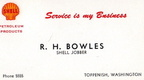Bowles Business Card