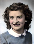 Jeannine (Brown) Bowles - Class of 1950 Graduation picture