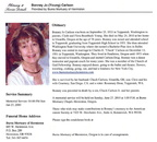 Bonney Jo Young Carlson Obituary - Class of 51