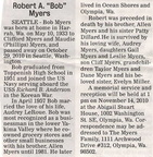 Bob Myers obituary