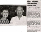 Ted Filer ('53) - 50th Anniversary - 2007