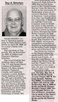 Ray Simchen obituary - May 2009 - Class of 1953