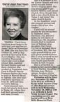 Carol (Hadley) Garrison - Class of '55 - obituary - Nov 2008