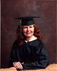 Alice Oswalt Everett, college graduation (1980)