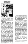Ron Humphrey obit - Feb 2003