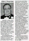 Eldon Pomerinke obituary - Dec 2008 - Class of 1962