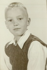 Joe Breece in First Grade - 1952