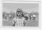 Carol Fornfeist at Buena Grade School - 1957