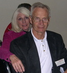 Bill Barnett and Diane - 2004