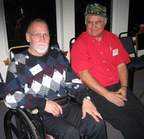 Jack Getsinger and Bob Wahpat - 2004