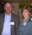 Dick Waggener and Pam DeGroot - 2004