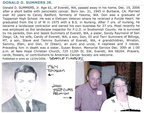 Don Summers Obit - Dec 2006