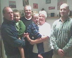 Gail Rankin with family - 2004