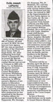 Ovila Joseph LaPlante obituary -  April 2014
