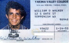 Dan Walker's YVC ID card.