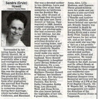 Sandra Ervin Howell obituary - March 2012 - Class of 1971