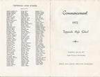 1972 Graduation Program - Outside