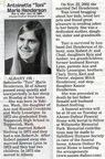 Toni Cronkhite Siefring Henderson obituary - Oct 2009 - Class of 1972