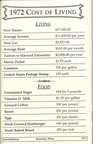 Cost of Living in 1972