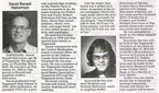 David Halvorson obituary - May 2010 -  Class of 1974