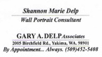 Gary Delp business card - Class of 1974
