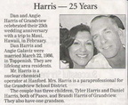 Dan Harris - 25th wedding anniversary - March 2011