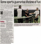Wally Morrison article - March 2010 - Class of 1974 also former tennis coach at Top-Hi