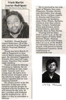 Frank Rodriguez Obituary- July 2006 - Class of 1974