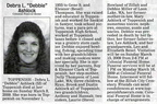 Debbie (Thompson-Coleman) Ashlock obituary - March 2009 - Class of 1974