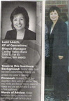 Lupe Ramirez Leach - Class of 1974 - Women In Business supplement to Yakima Herald -  Oct 2009