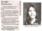 Doug Theodorsen Obituary - 2006