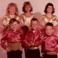 David Lybbert,front row on left.  Picture is dance class, early 60s.