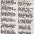 Kevin Sealock obituary - July 2012 - Class of 1976